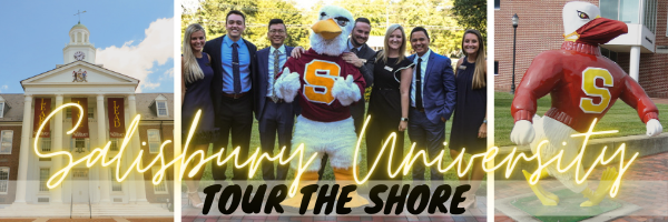 Salisbury University Virtual Open House Banner